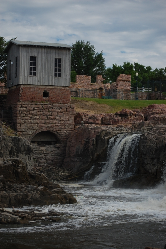 Water Mill In Sioux Falls