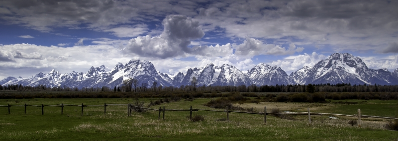 Spring In Jackson Hole