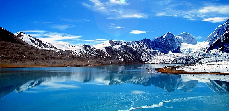 Gurudongmer Lake At North Sikkim