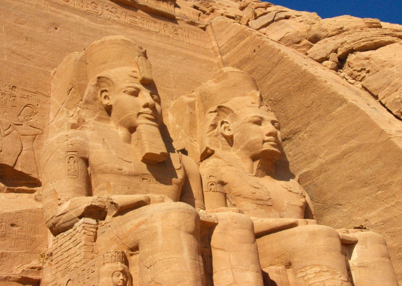 The Temple Of Ramses Ii At Abu Simbel