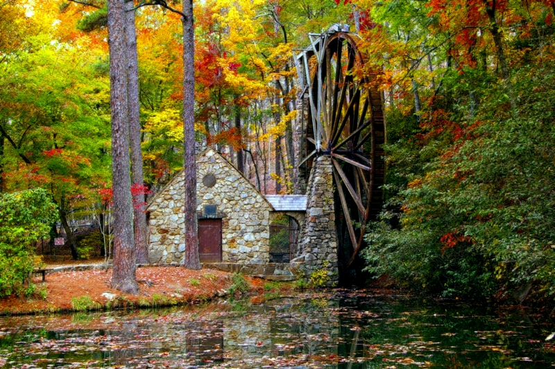 Old Mill Wheel