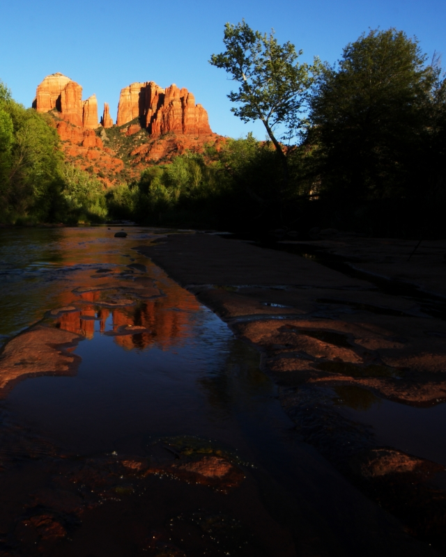 Red Rock Evening Melting