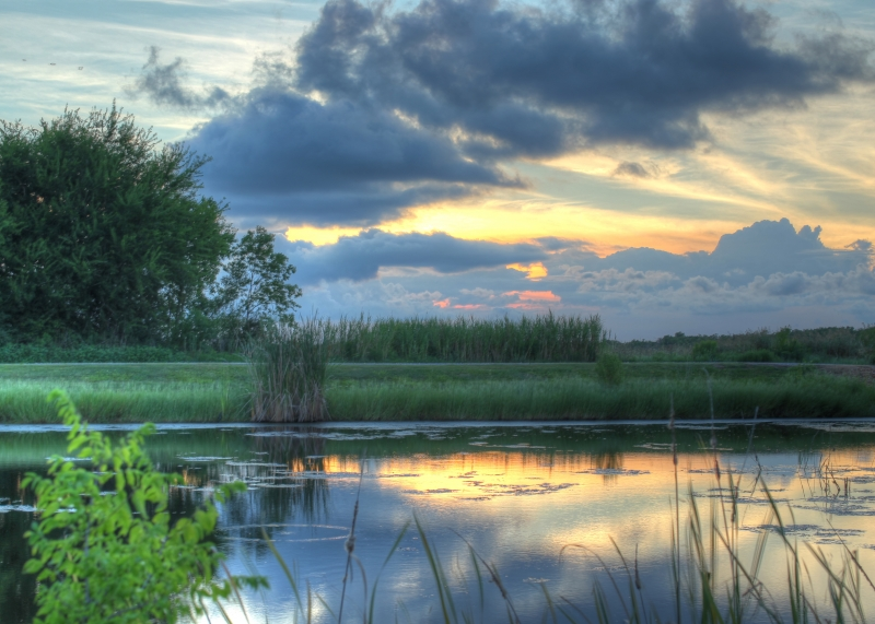 Sunset On The Creole Nature Trail