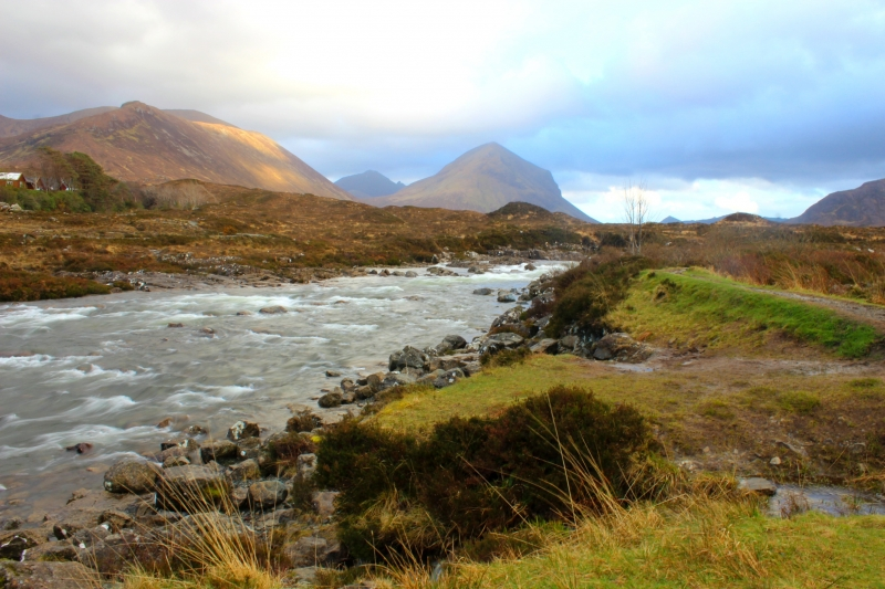 Towards The Cuillins
