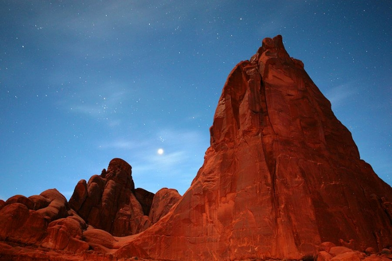 Moonlight In Arches