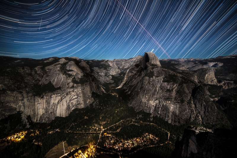 Half Dome Timelapse