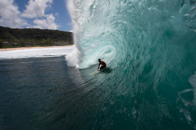 Backside Pipeline