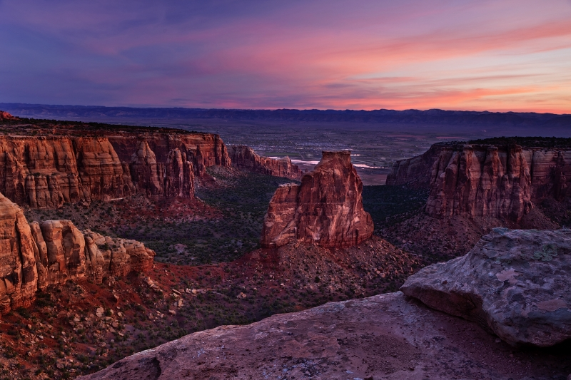 Sunrise, Colorado National Monument