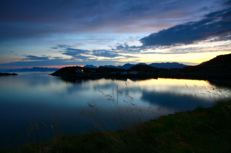 Summer Night In The Lofoten Islands