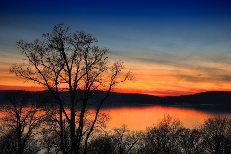 Hudson Valley At Twilight