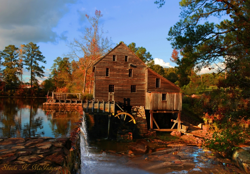 Old Yates Mill