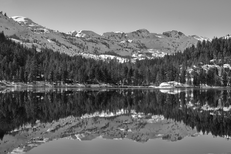 Reflections Of Fallen Leaf Lake