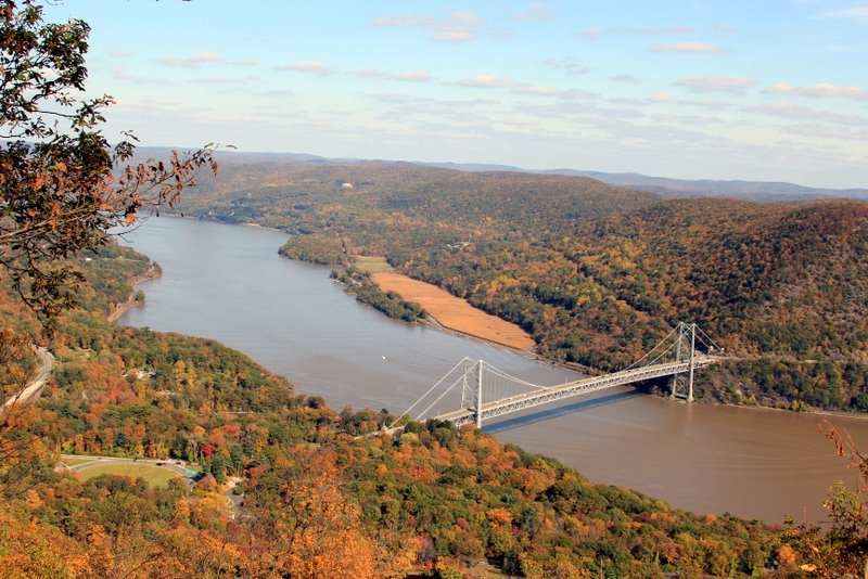 The Bear Mountain Bridge