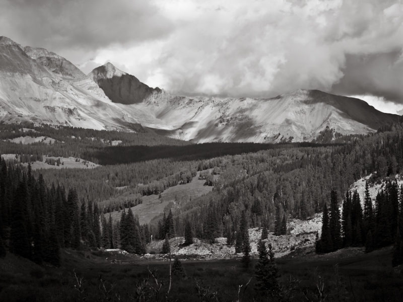 Colorado High Country (monochrome)