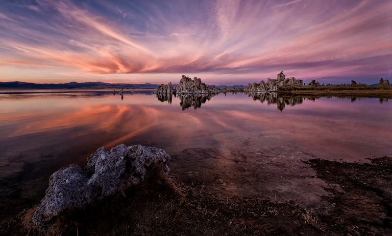 Sunset Mono Lake