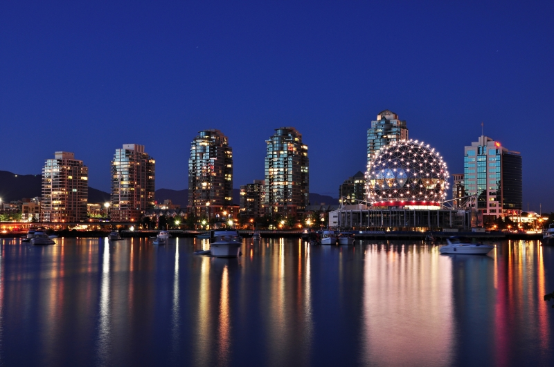 Dusk In Vancouver