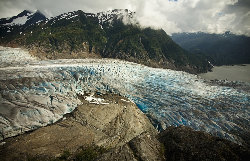 Mendenhall Glaciers Warm Retreat