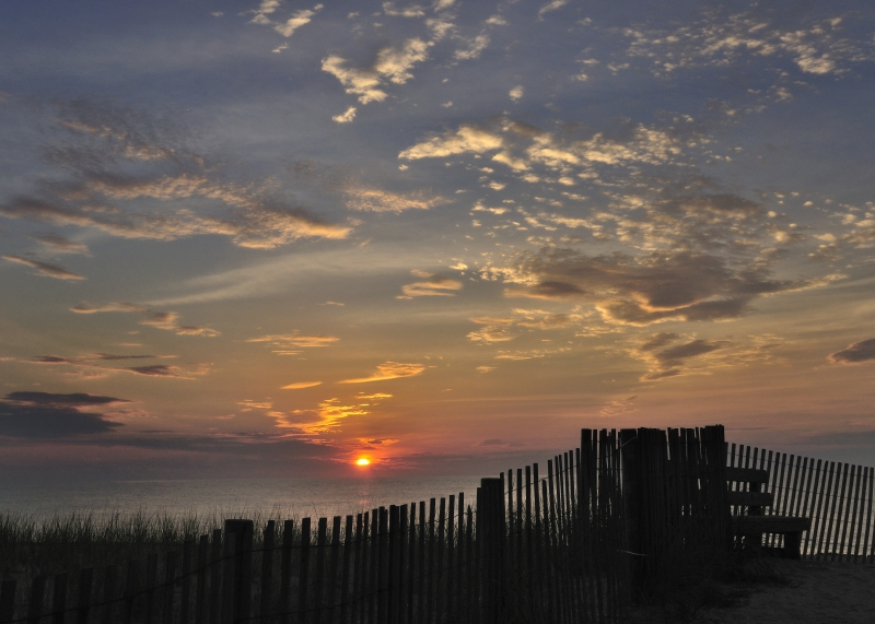 Sunrise At Bethany Beach