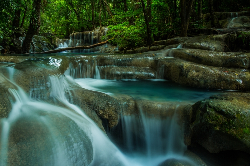 Erawan Waterfal, Erawan National Park