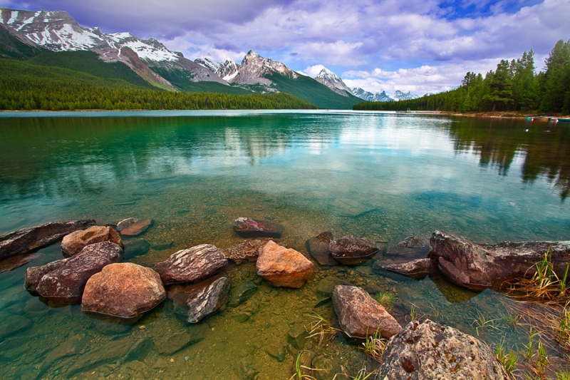 Canadian Rockies, Jasper National Park, Maligne Lake