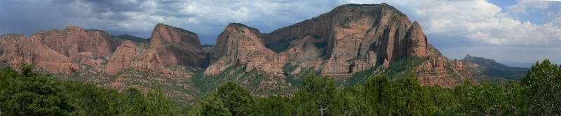 Zion National Park Panorama