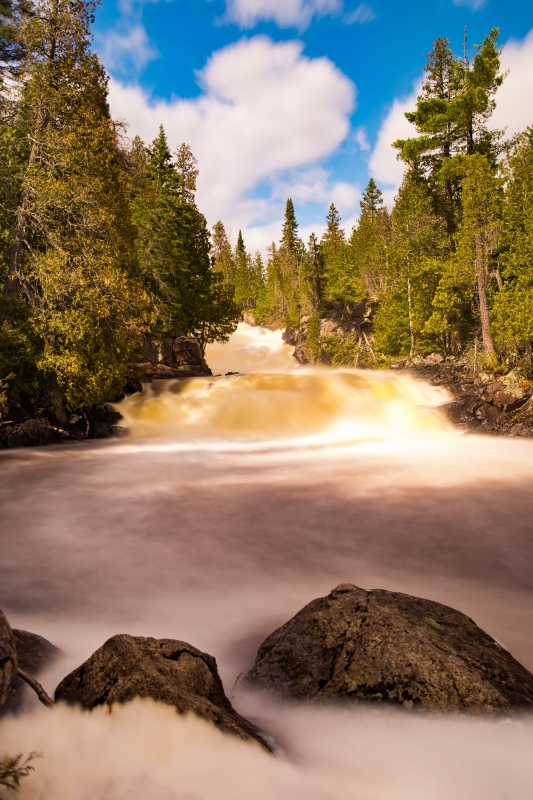 Cascades At George H. Crosby – Manitou State Park (mn)
