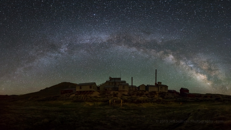 Milky Way Arch Over Standard Mill
