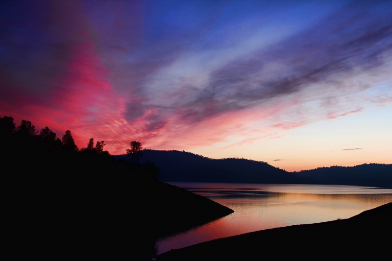 New Melones Sunset