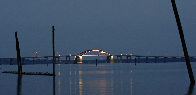 Lewisville Lake Bridge