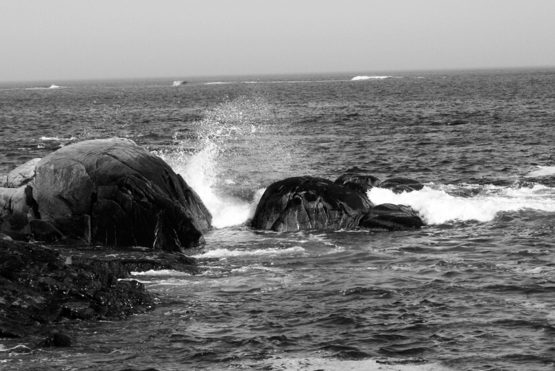 Splashing Rocks