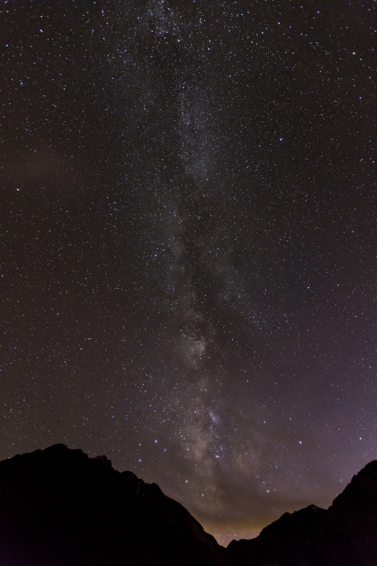 Milky Way At Convict Lake