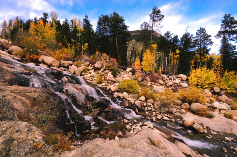 Alluvial Fan Autumn
