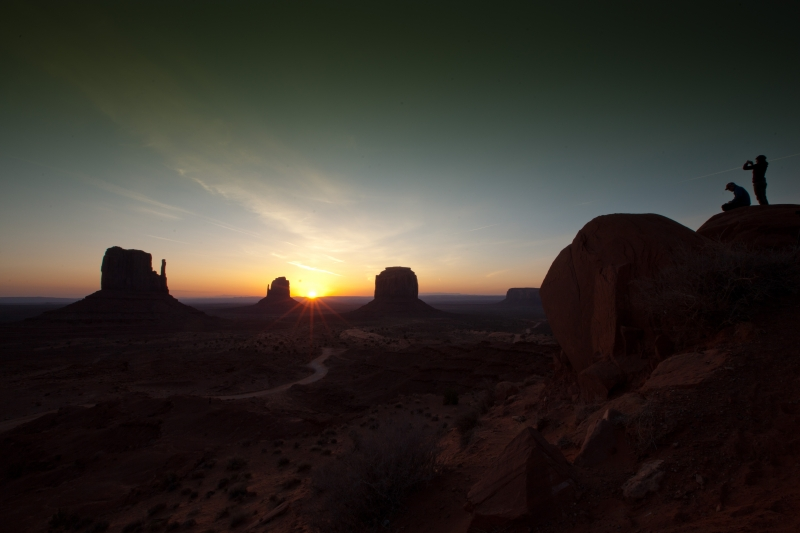 Monument Valley Sunrise 1