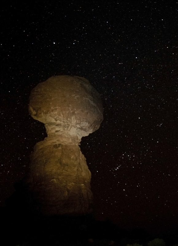 Balanced Rock And Orion