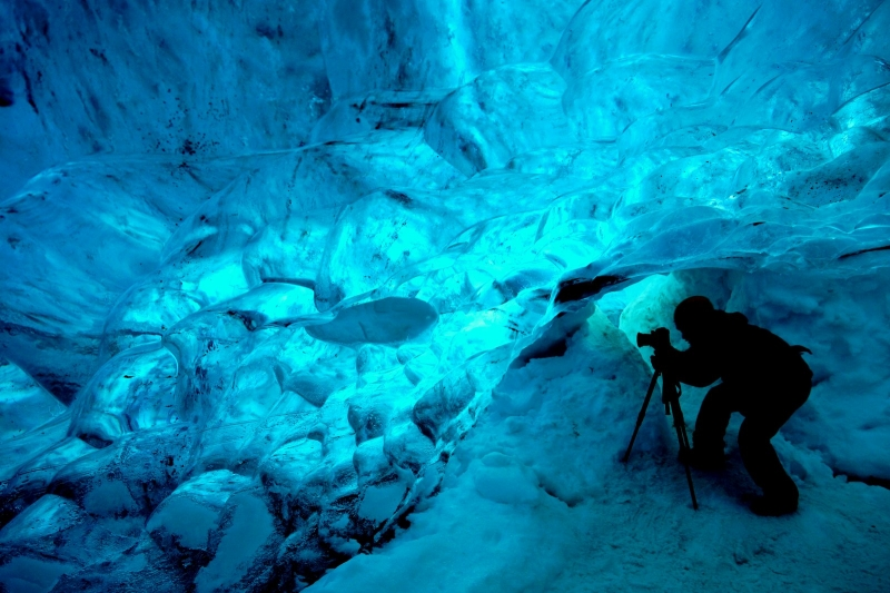 Ice Cave Photographer