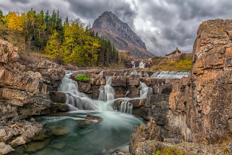 Swiftcurrent Falls