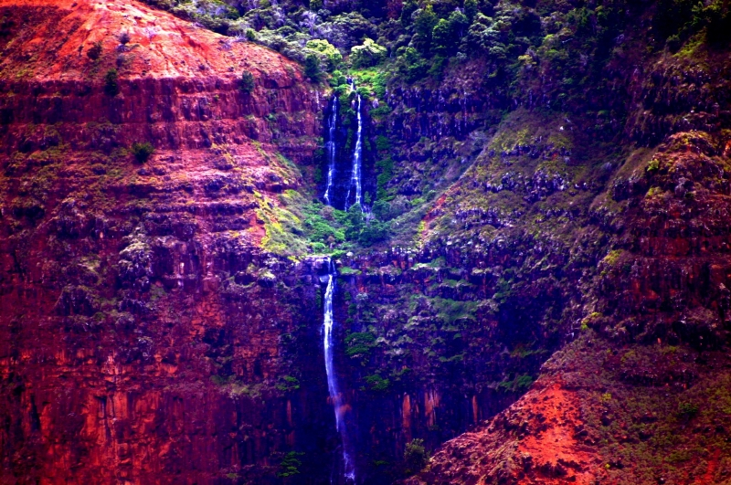 Waileau Falls Kaui 2005.