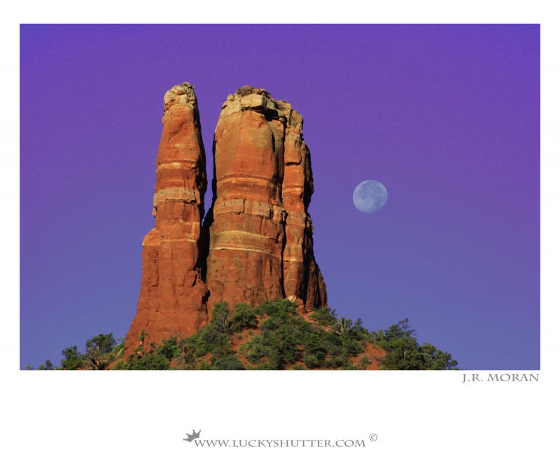 Sedona Moon Fall