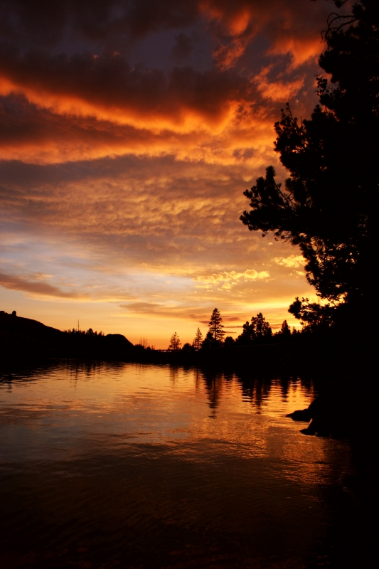 Caples Lake Sunset