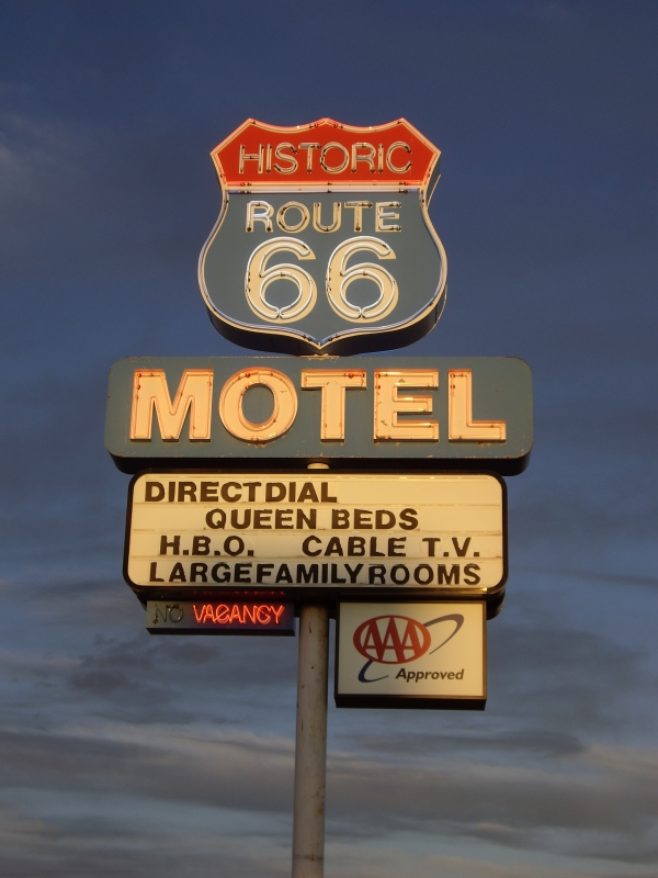 Route 66 Motel – Seligman Arizona