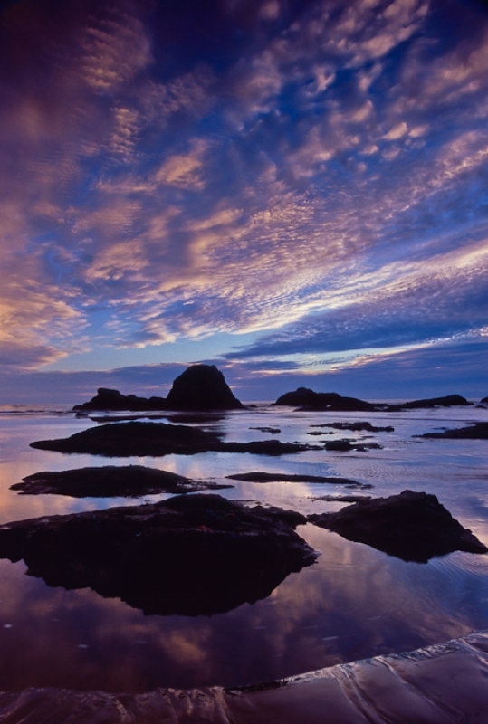 Ruby Beach Sunset, Olympic Ntl Park, Wa
