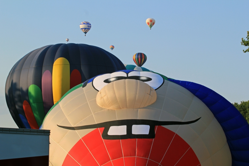 2012 Spiedie And Balloon Fest