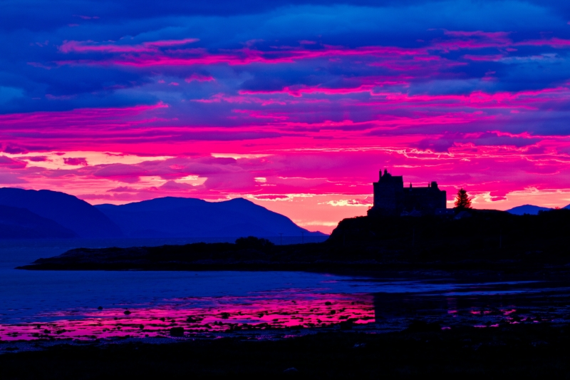 Sunrise Over Duart Castle