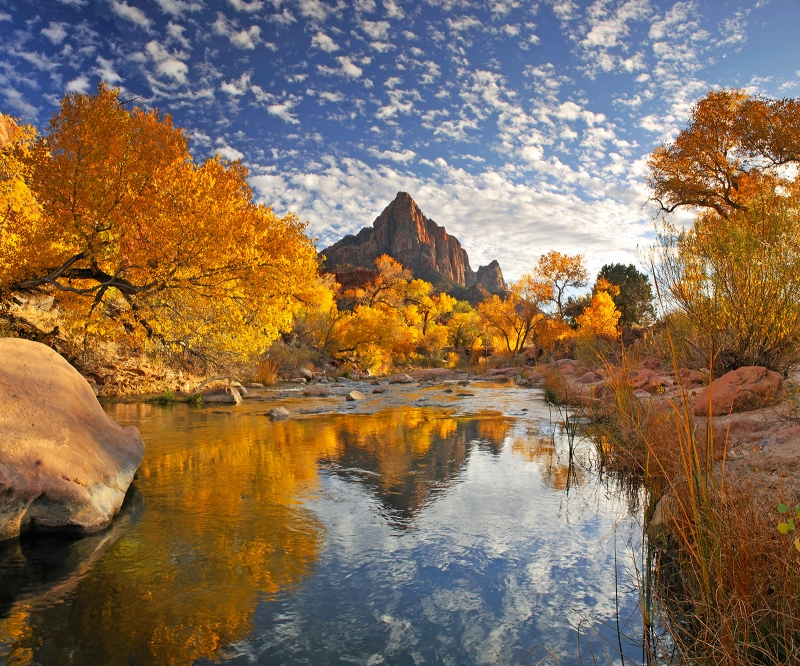 Virgin River Reflection