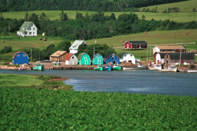 French River Fishing Village