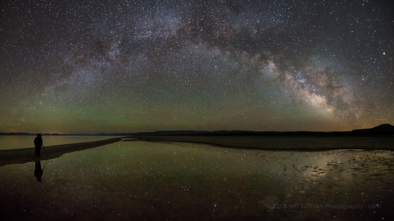 Watching The Milky Way Reflect