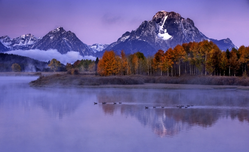 Sunrise Oxbow Bend