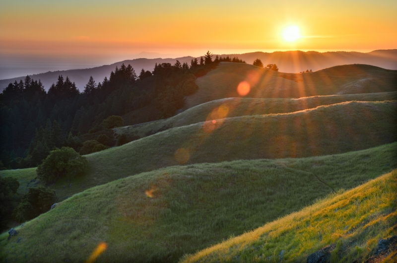 Bolinas Ridge Sunset