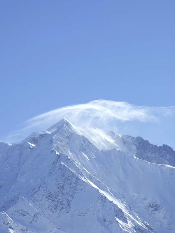 Cloud Over The Mont Blanc