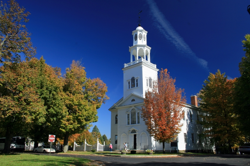 Old First Church In Bennington, Vt